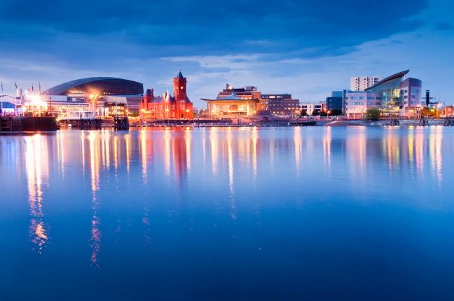 Cityscape, Cardiff Bay